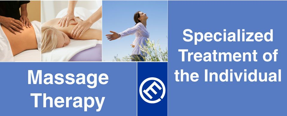 Specialized treatment of the individual - Massage Therapy